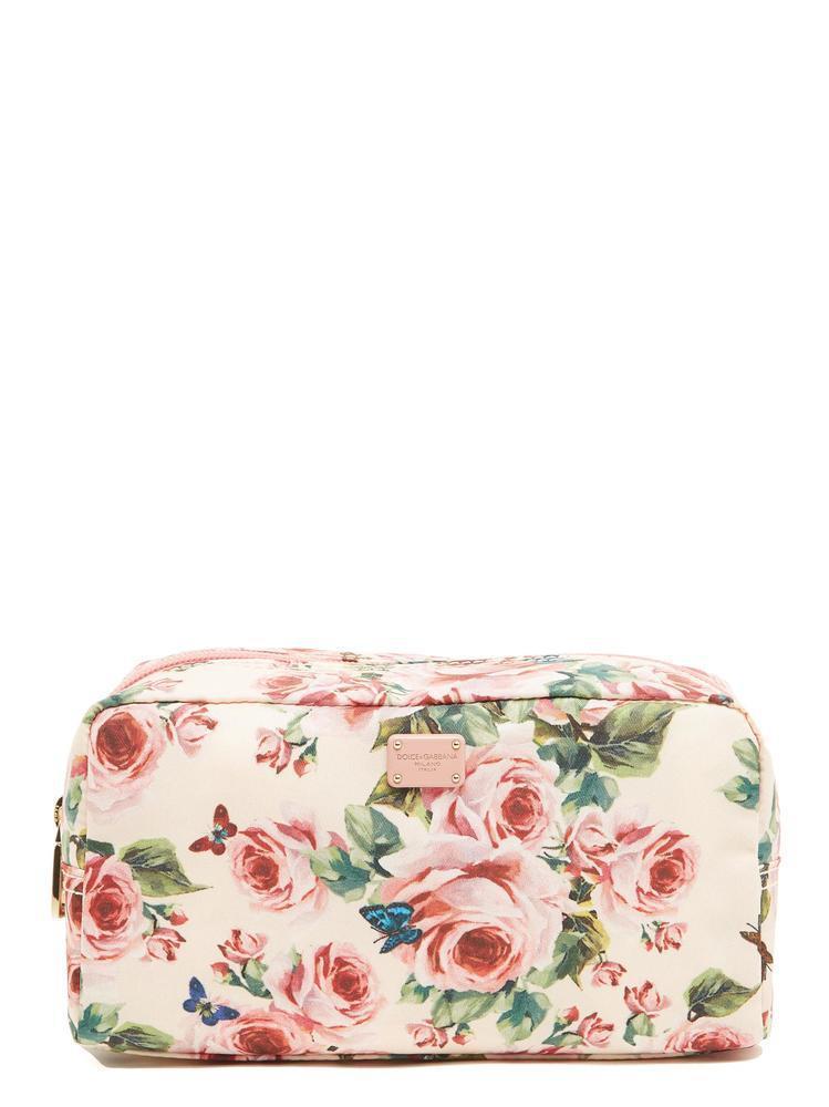 Réduction Manchester Grande Vente Dolce & Floral-print Gabbana Sac De Maquillage Magasin De Sortie De Dégagement FpHsf3bPW