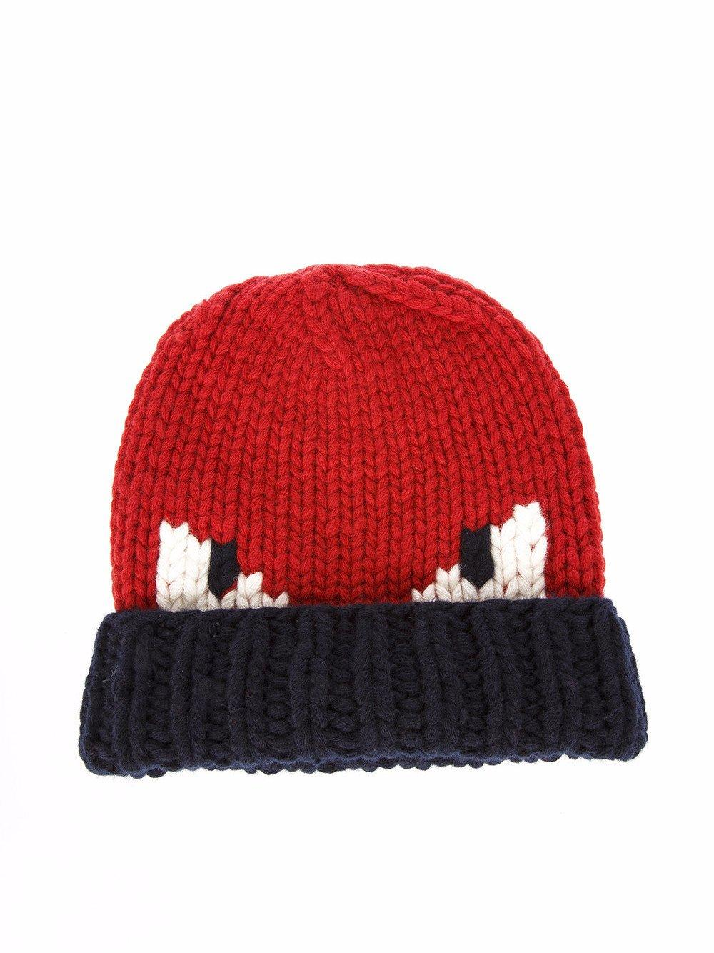 dfc60f9c10a9 Lyst - Fendi Bag Bugs Beanie in Red for Men - Save 61%