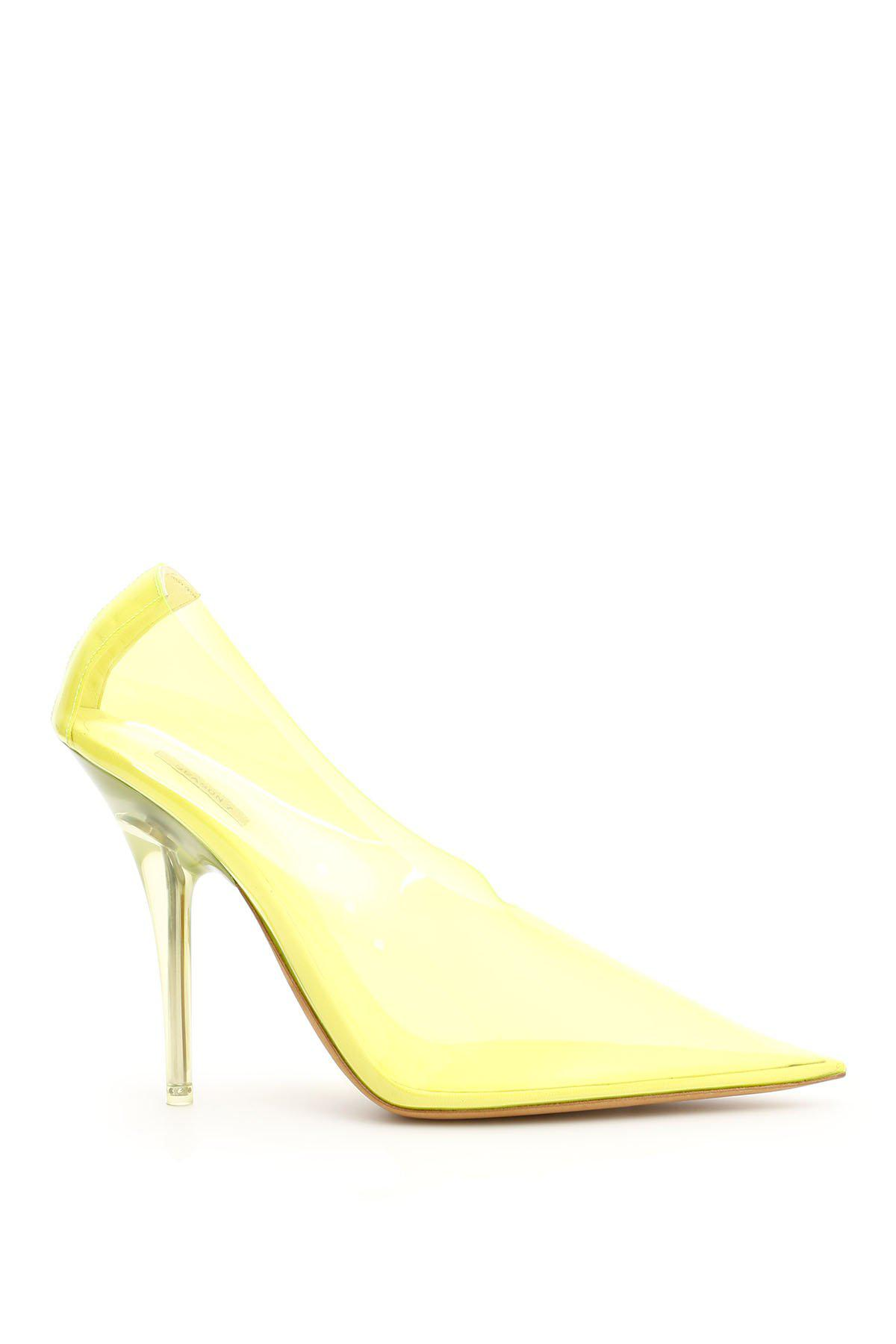 700fe26b6 Yeezy Yellow Tint Pvc Pumps By in Yellow - Lyst