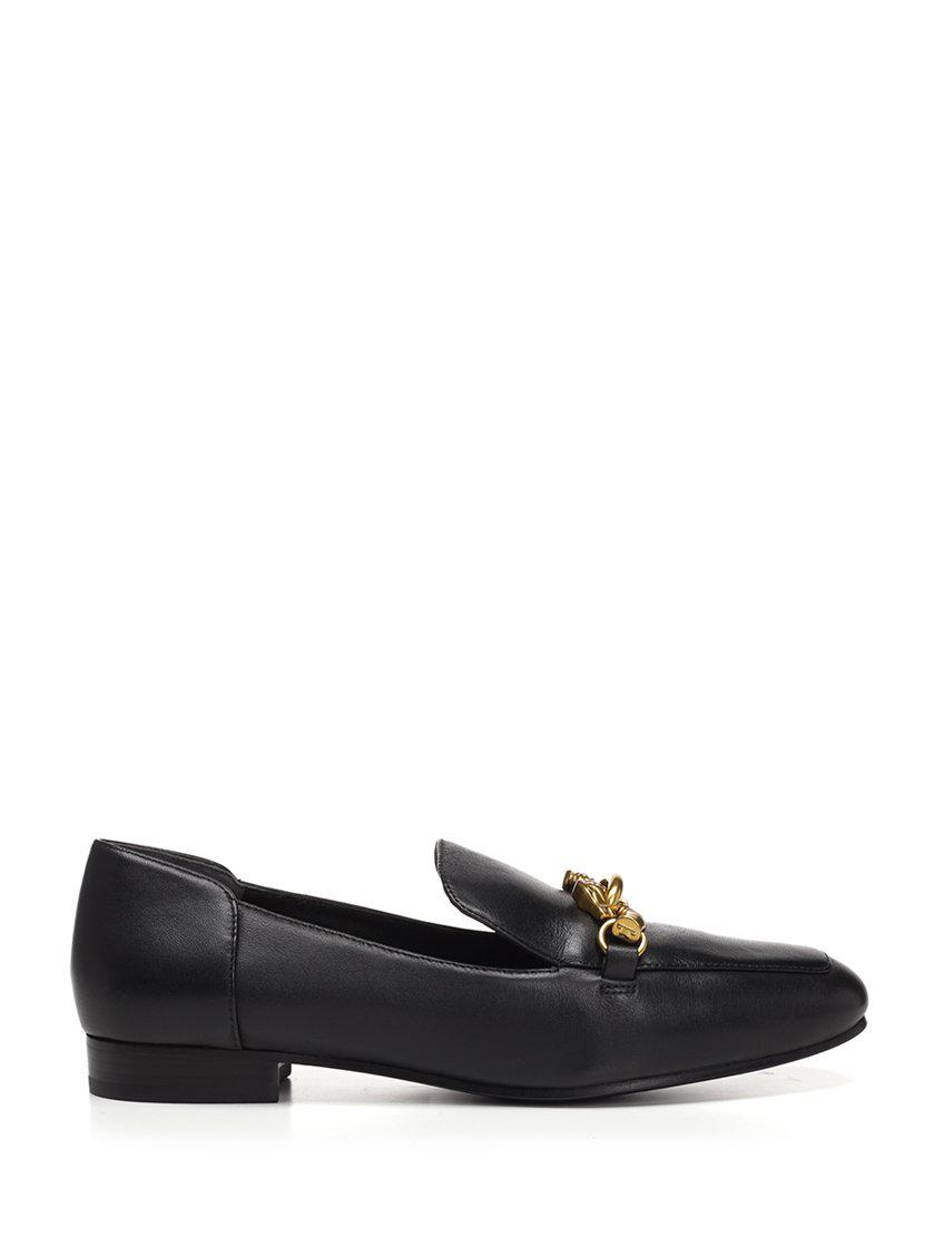 c122059c76f Lyst - Tory Burch Jessa Embellished Loafers in Black