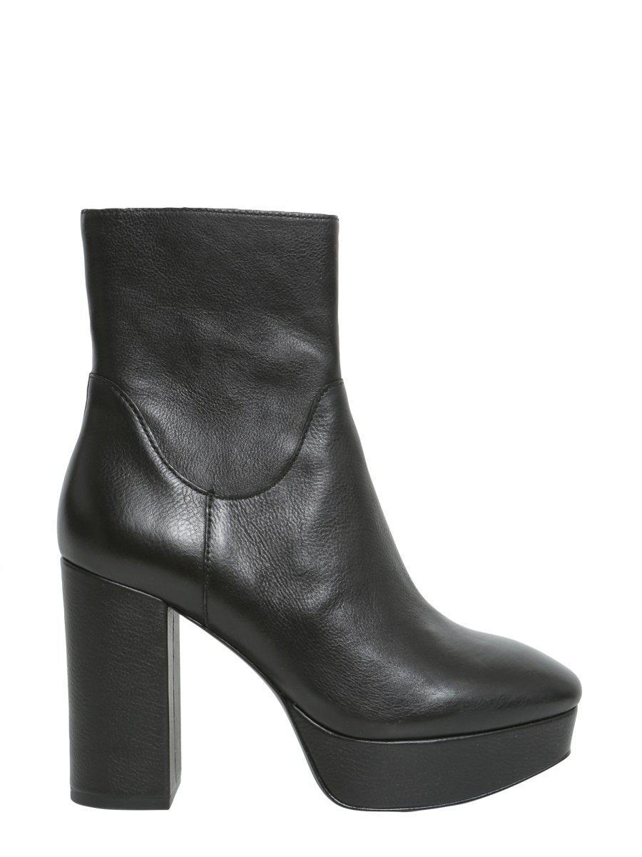 6a21820ce16 Women's Black Amazon Chunky Heel Boots