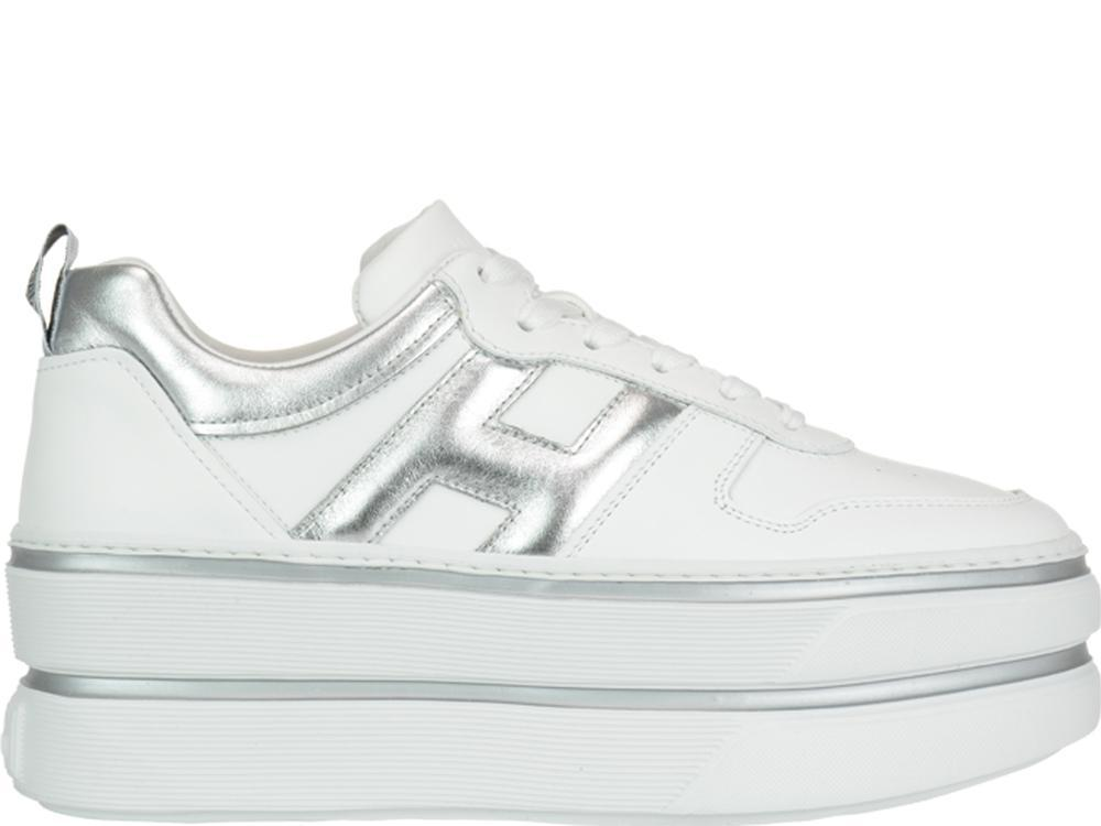 b8f71749956 Lyst - Hogan H449 Sneakers in White