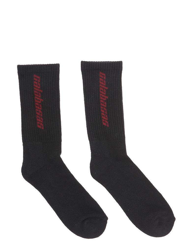 bce632ab Yeezy Calabasas Socks in Black for Men - Lyst