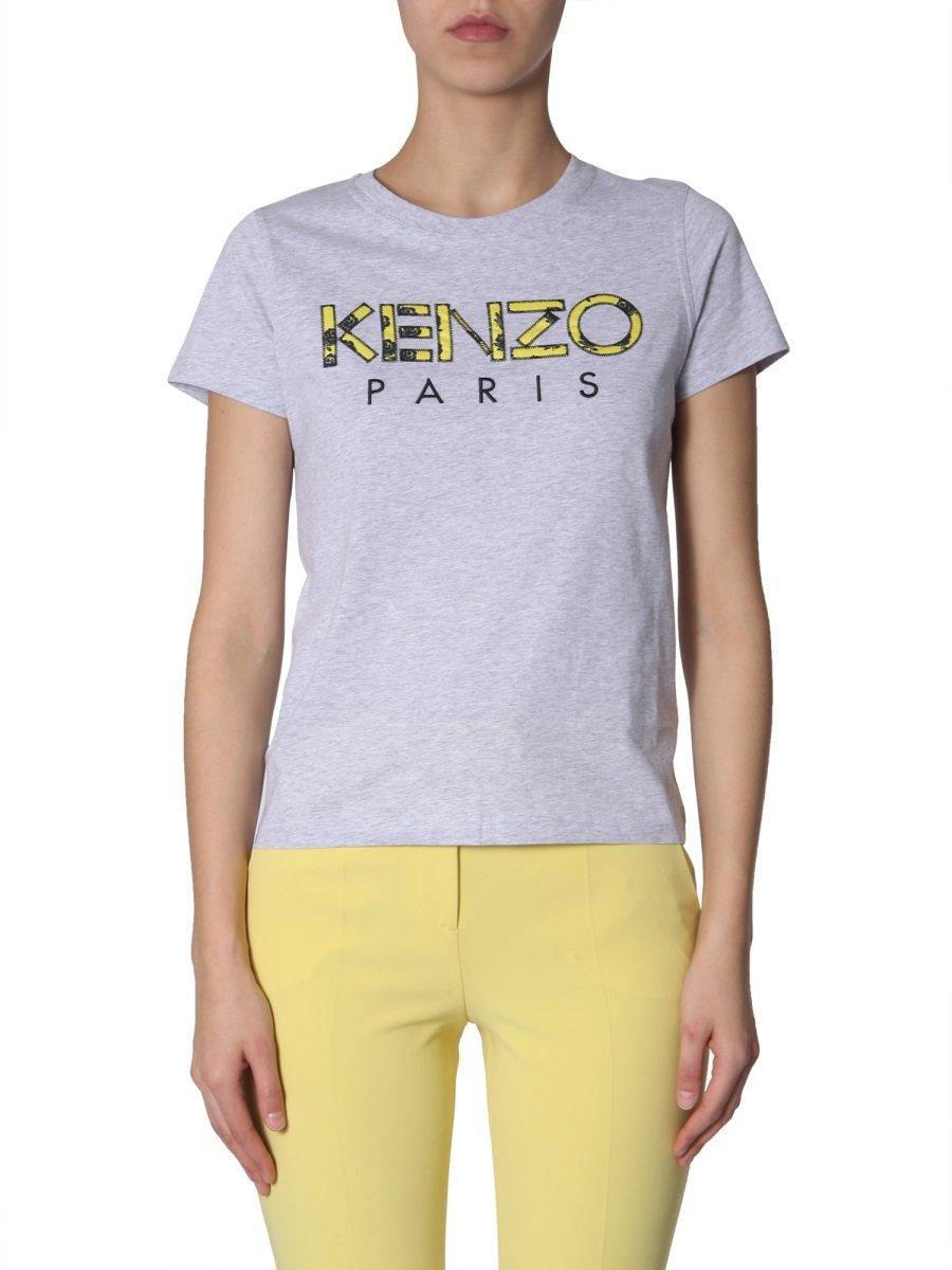 6a438a89 Lyst - KENZO Tiger Printed T-shirt in Purple