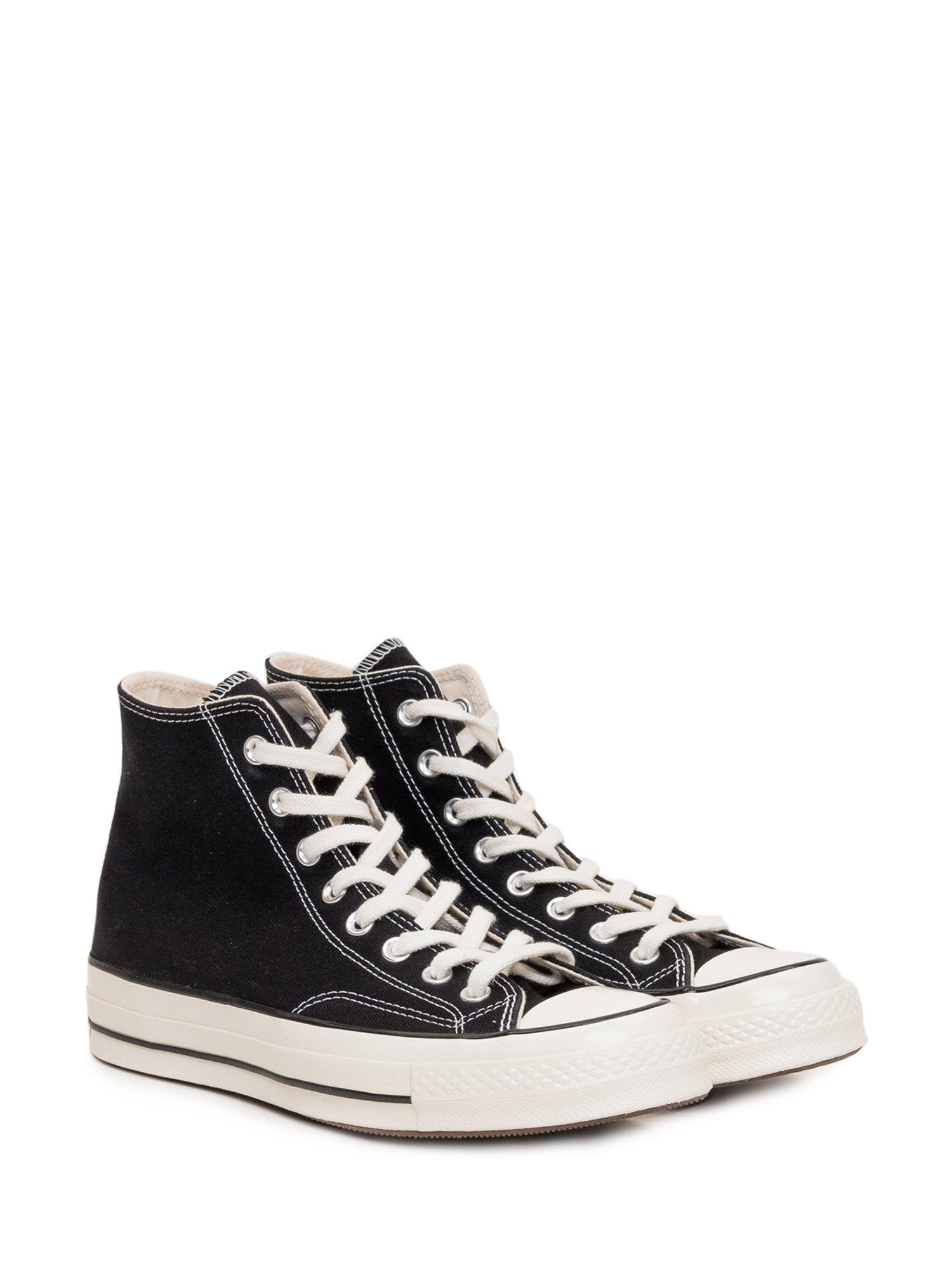 Converse Canvas Chuck 70 Classic High Top Sneakers in Black - Lyst