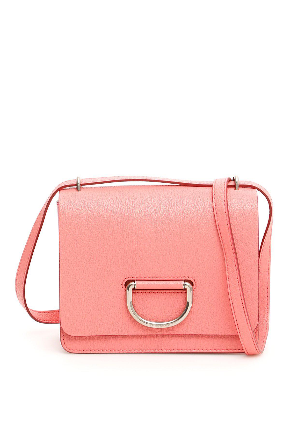 c3ba5965bdd4 Lyst - Burberry Small D Ring Crossbody Bag in Pink