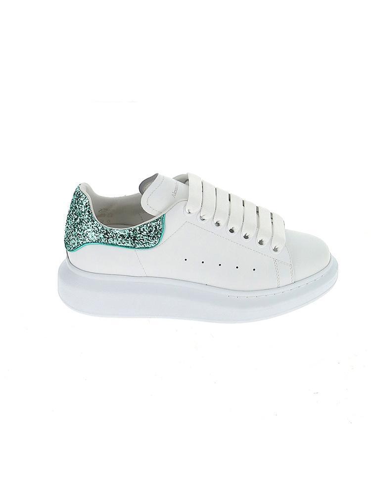 0b2f63a396c2 Alexander McQueen. Women s Glitter Oversize Sneakers