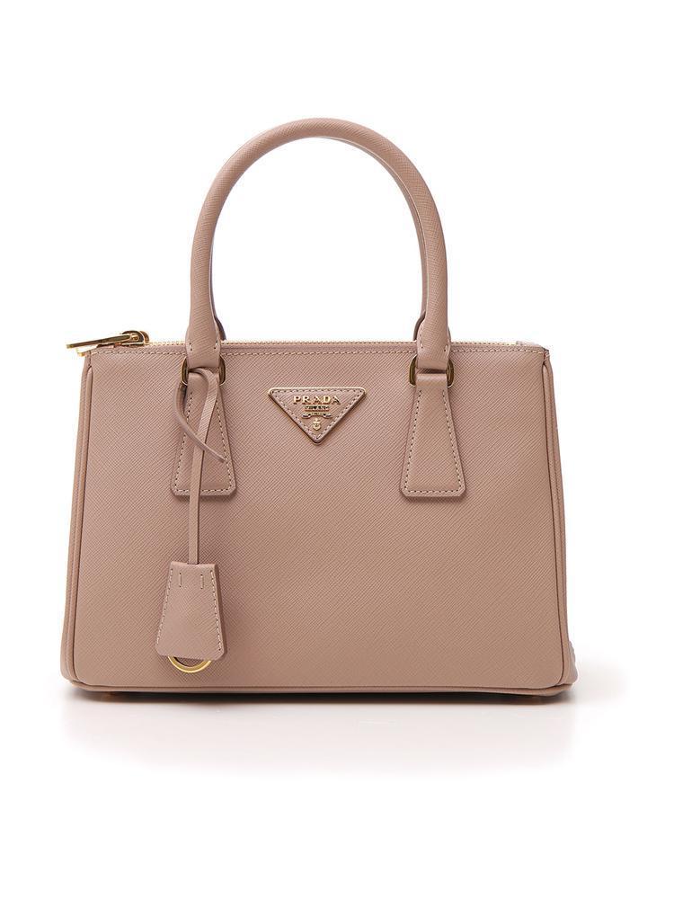 99e9c0021f99 Lyst - Prada Galleria Tote Bag in Natural - Save 26%