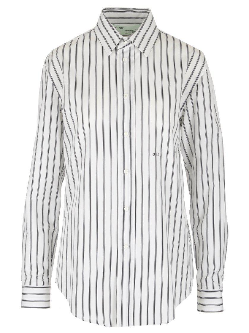 948f8eb35d29 Off-White C O Virgil Abloh Stripe Shirt for Men - Lyst