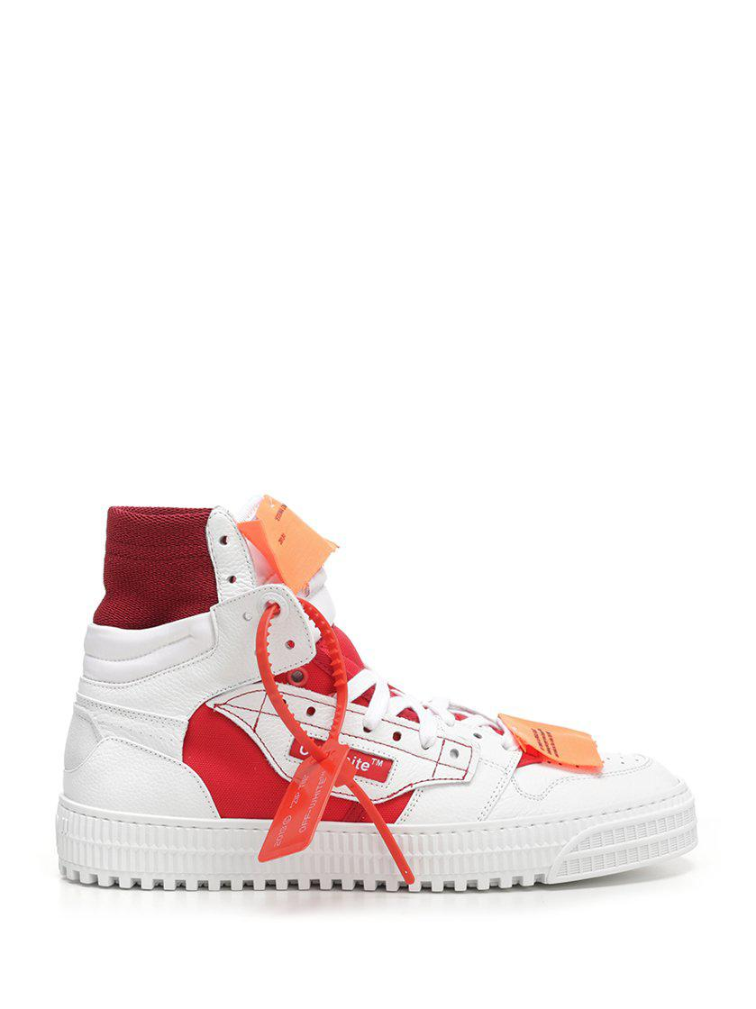 2fdb2967026752 Lyst - Off-White C/O Virgil Abloh High Top Sneakers in White for Men