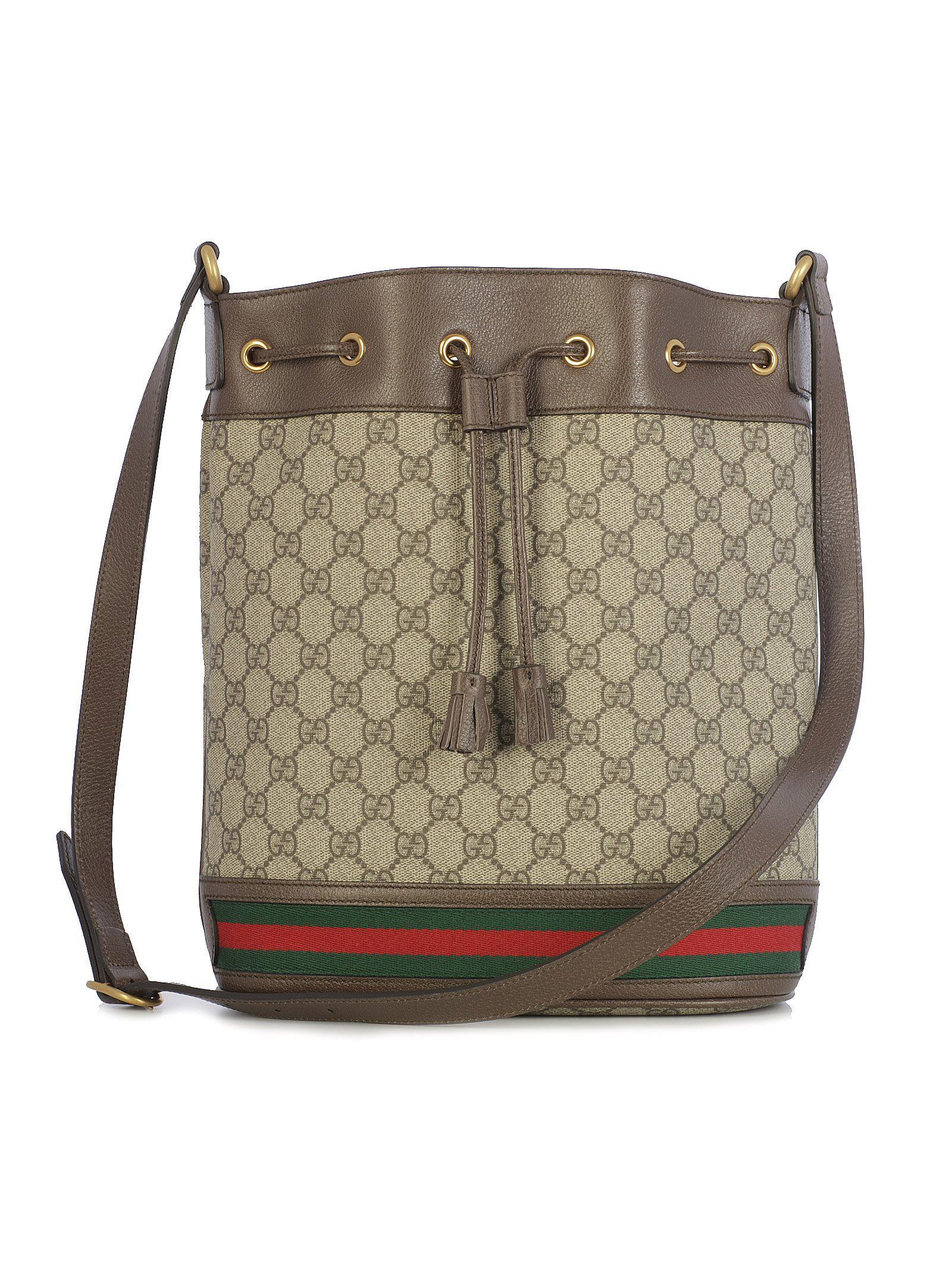 8875c5ec3ce5 Gucci Ophidia Gg Bucket Bag - Lyst