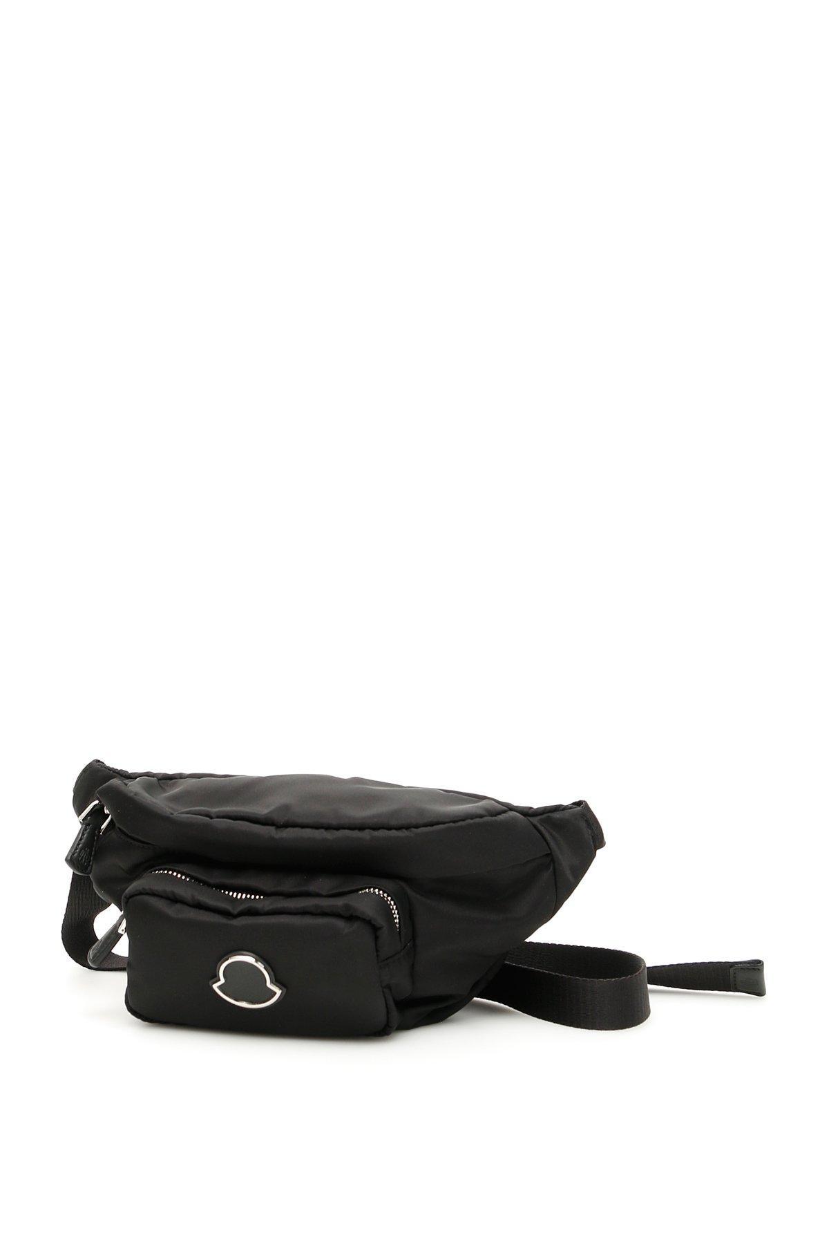 Moncler Basic Belt Bag in Black - Lyst fb3925556bc3d