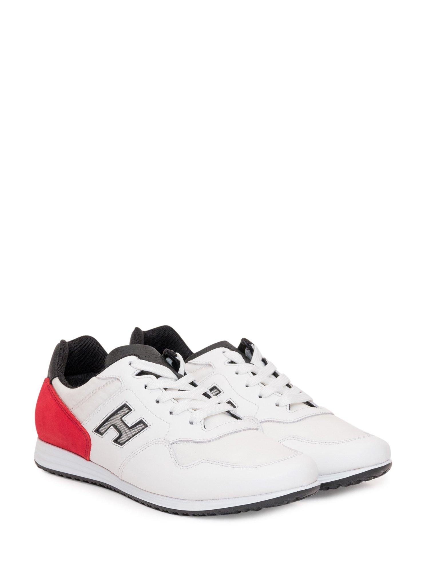 Hogan Leather H205 Olympia Low-top Sneakers in White for Men - Lyst