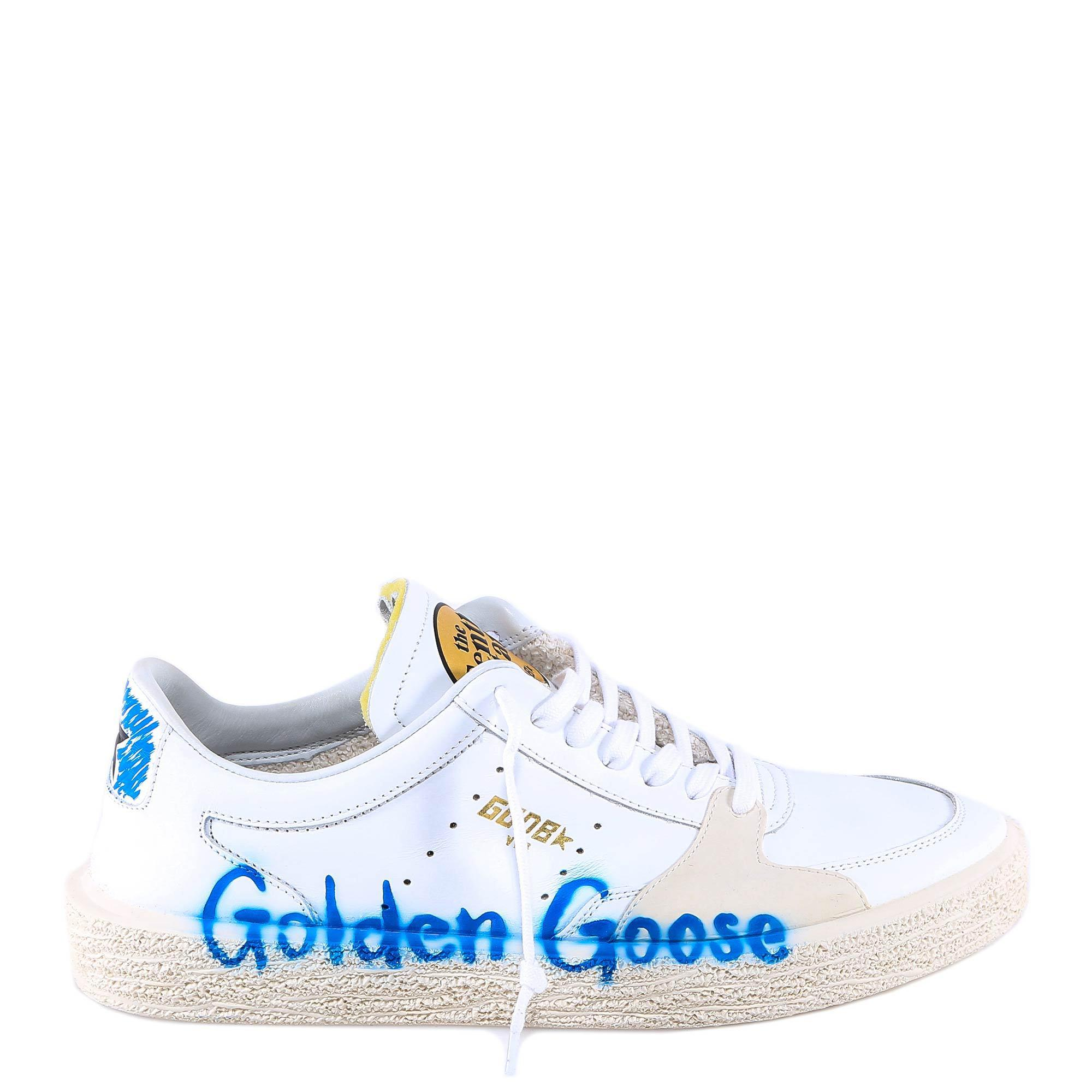 7bd76492f1166 Golden Goose Deluxe Brand Tenth Star Sneakers in White for Men - Lyst