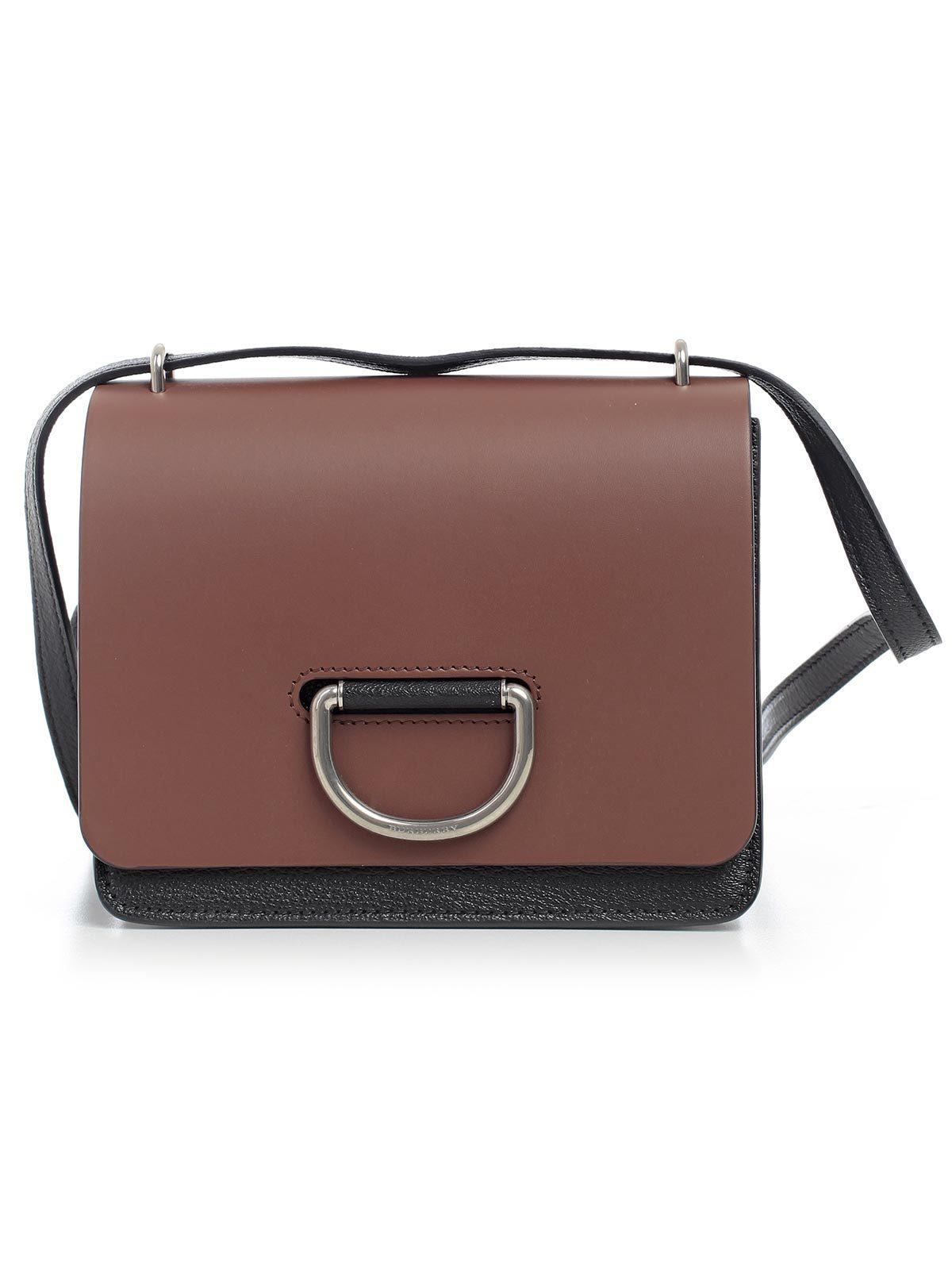 3b984fc39448 Lyst - Burberry D-ring Crossbody Bag in Brown