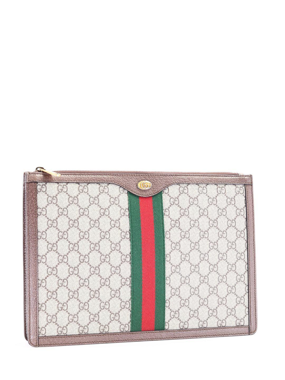 421ed8465b12 Lyst - Gucci GG Supreme Portfolio for Men