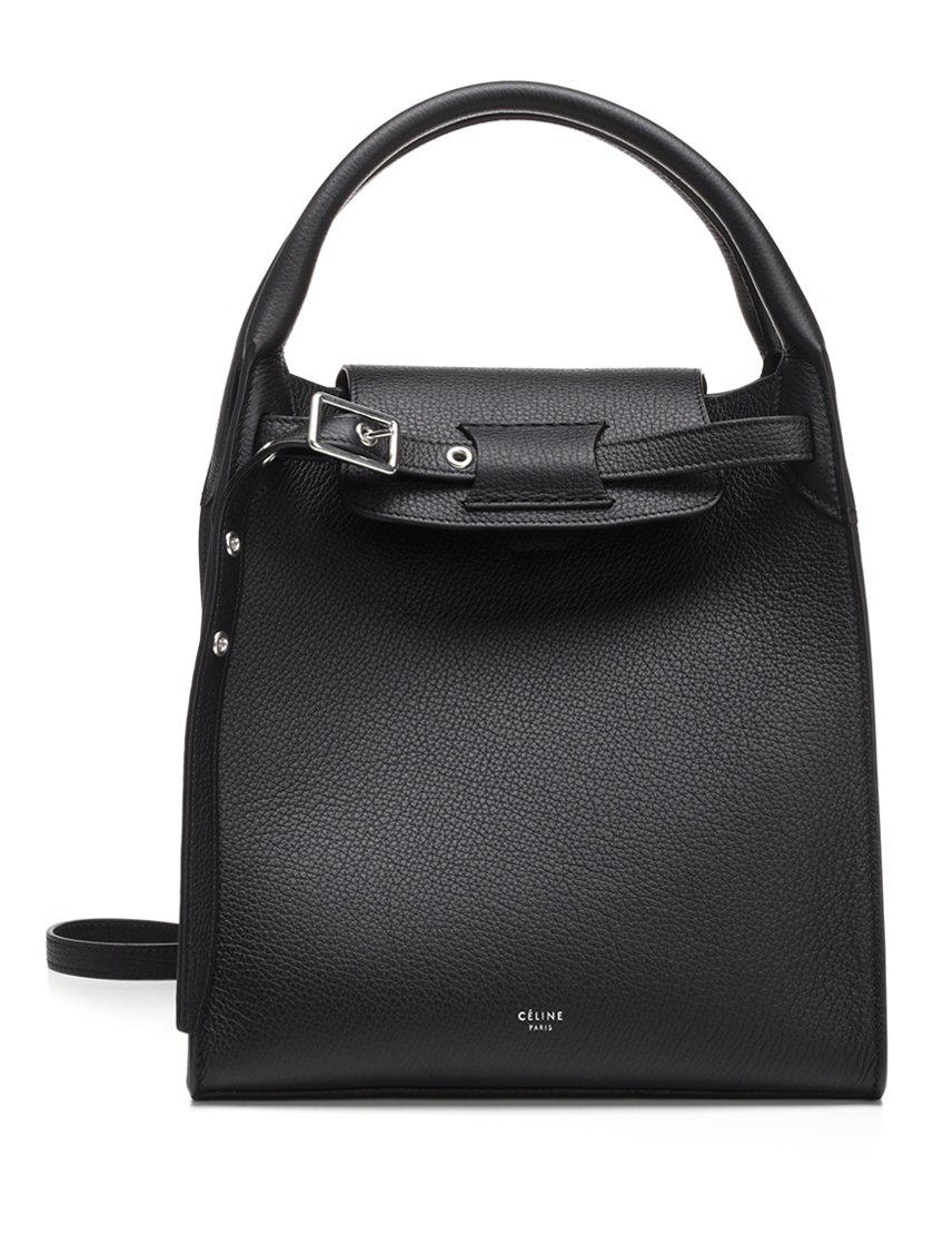 Céline - Black Small Big Smooth Calf Leather Tote Bag - Lyst. View  fullscreen 4be2ba3bb53da