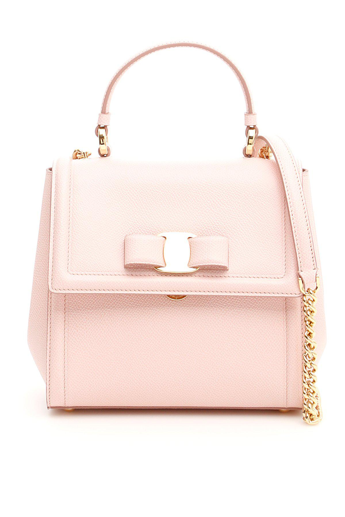 1d94643ef2 Ferragamo Carrie Tote Bag in Pink - Lyst