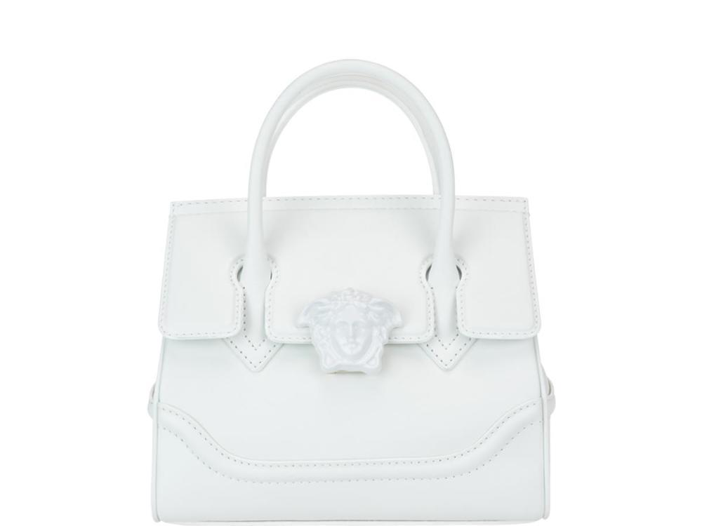 2612bf5dc1 Lyst - Versace Palazzo Empire Medium Bag in White