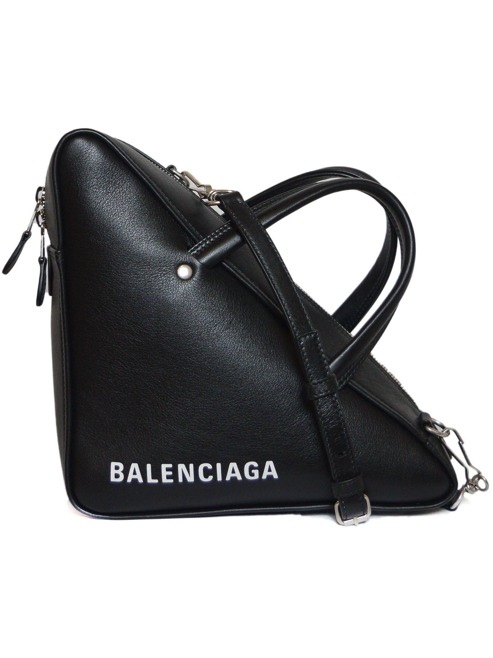 ad4877db33 Balenciaga - Blue Triangle Duffle S Bag - Lyst. View fullscreen