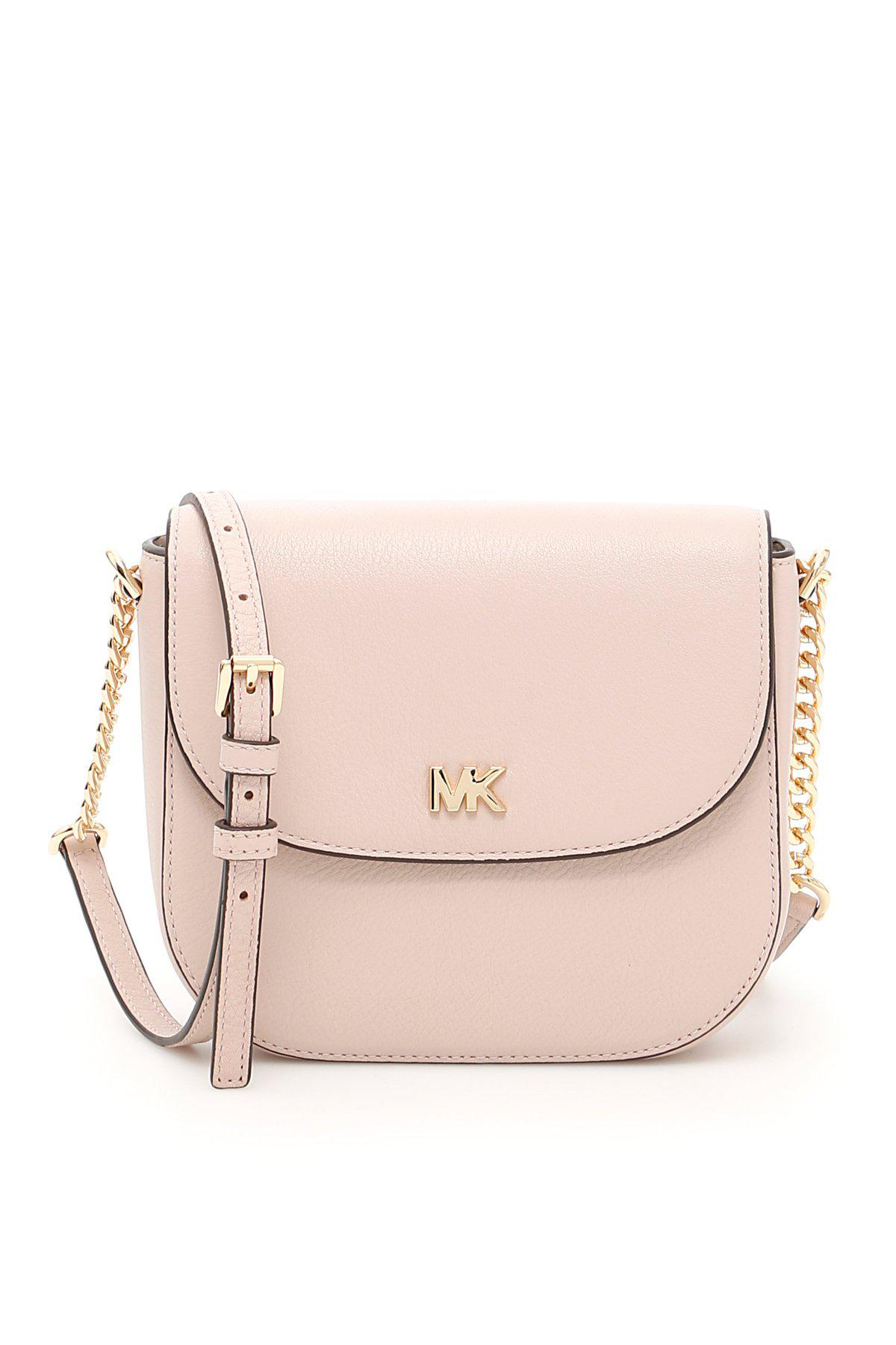 a59dab391dbf61 Lyst - MICHAEL Michael Kors Dome Crossbody Bag in Pink