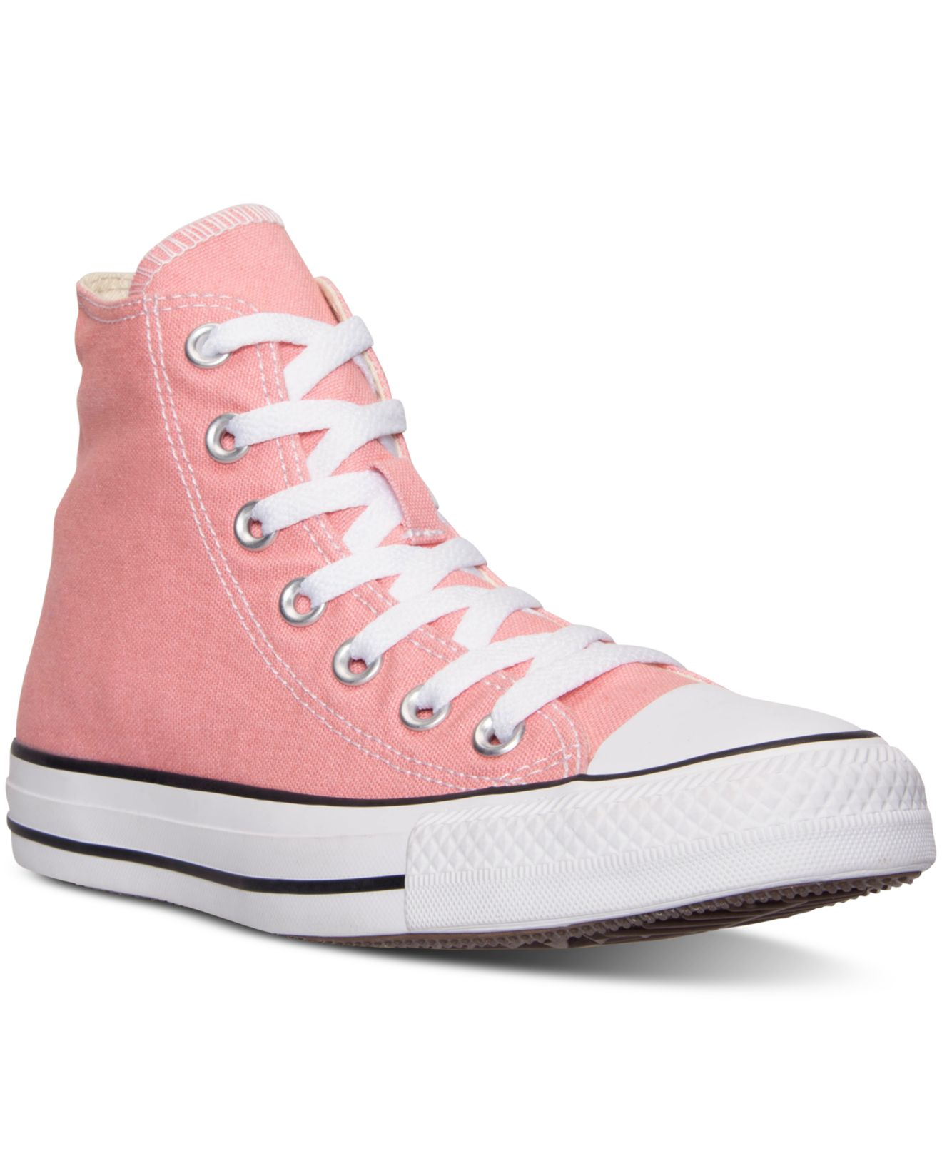 b5adebc9739b Lyst - Converse Women s Chuck Taylor Hi Casual Sneakers From Finish ...