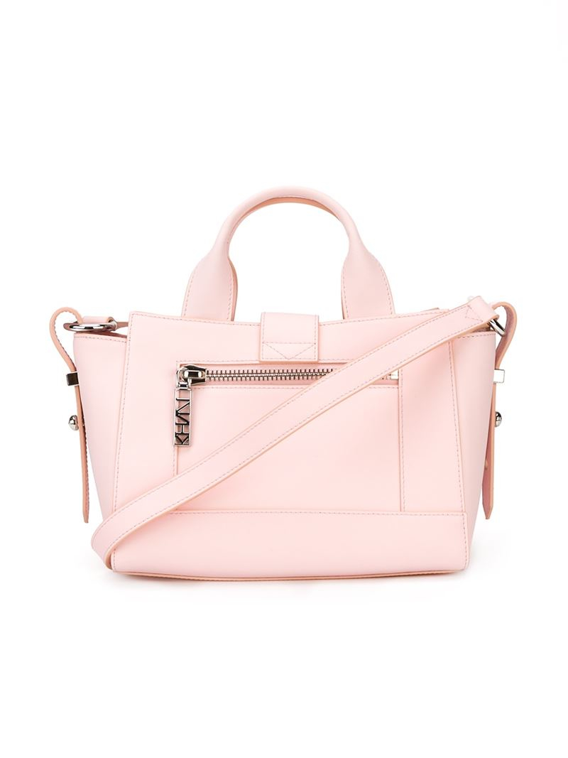 KENZO 'Kalifornia' Crossbody Bag in Pink & Purple (Pink)
