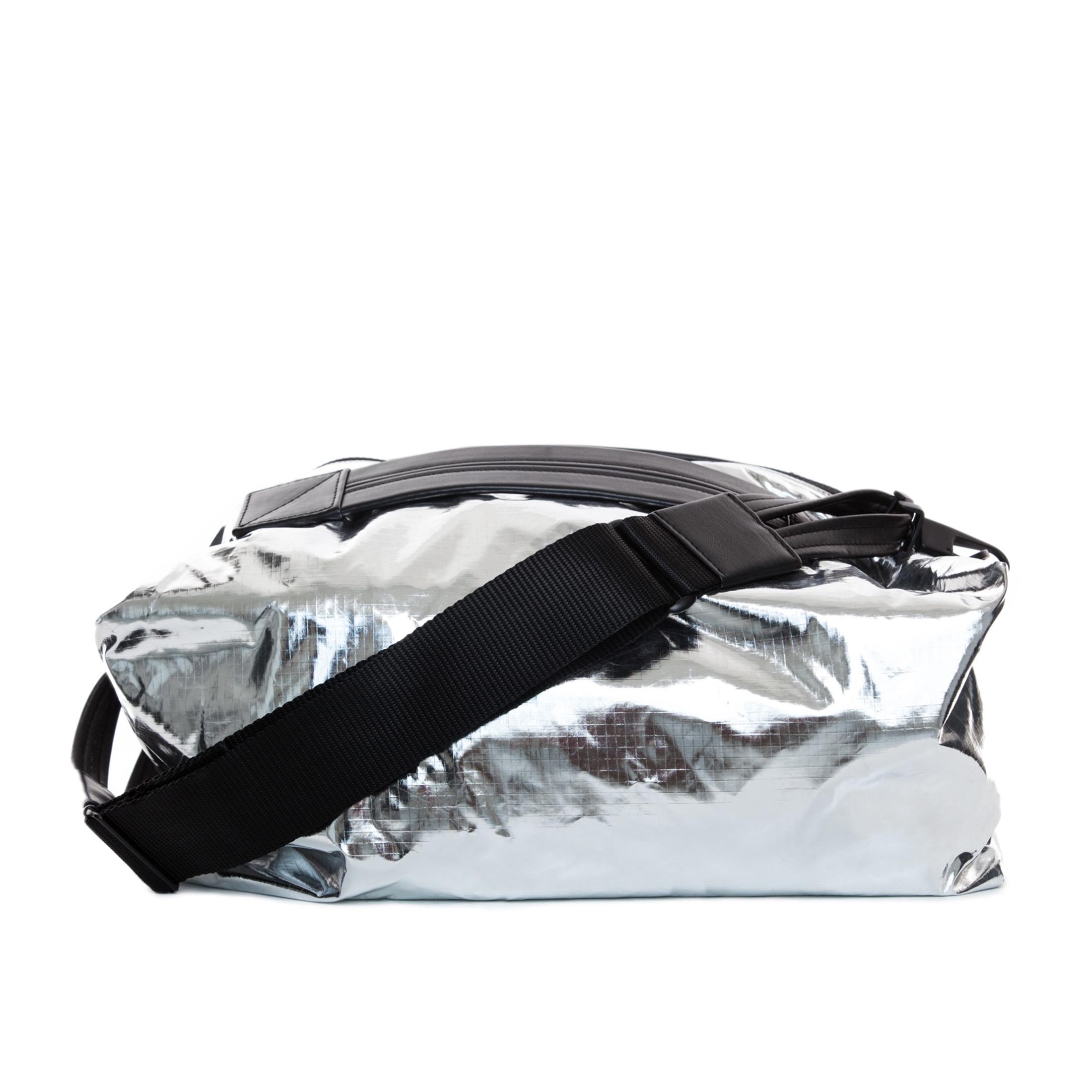 Lyst - The Transience Metallic Rip Stop Gym Bag in Metallic 935ff57f71e33