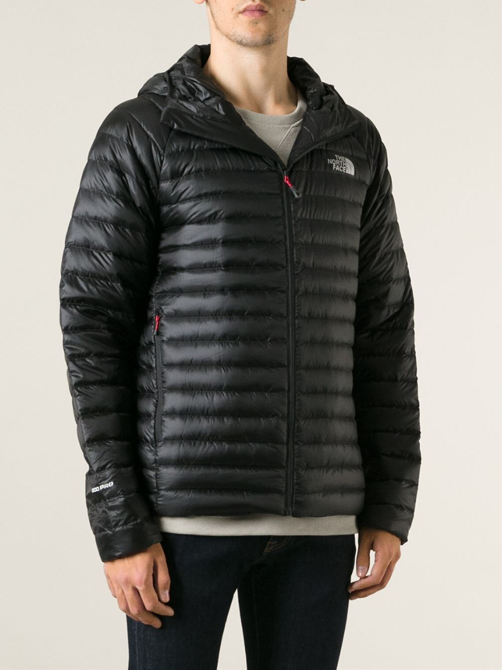 The North Face Quilted Jacket In Black For Men Lyst