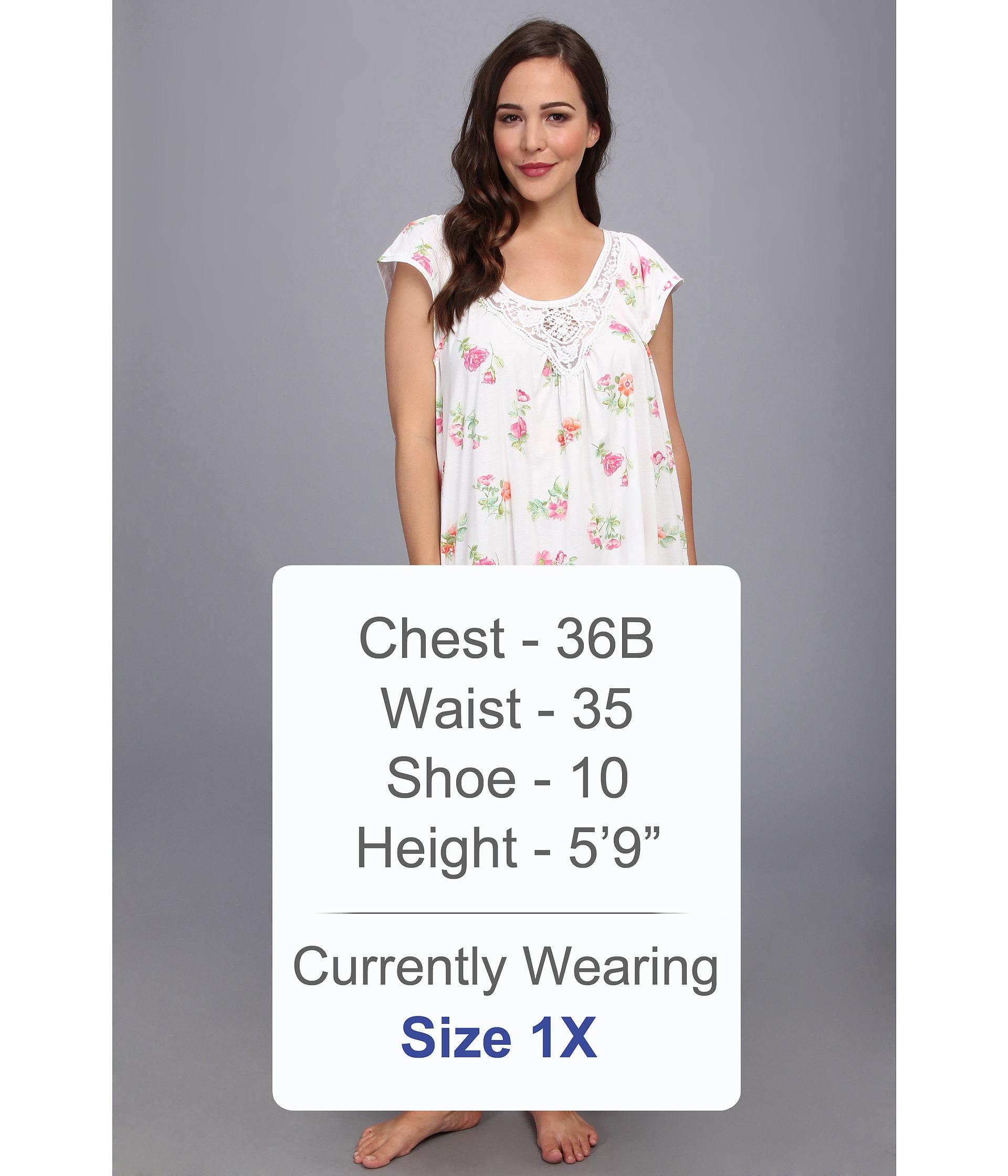5c38cf3b92 Lyst - Carole Hochman Plus Size Long Nightgown