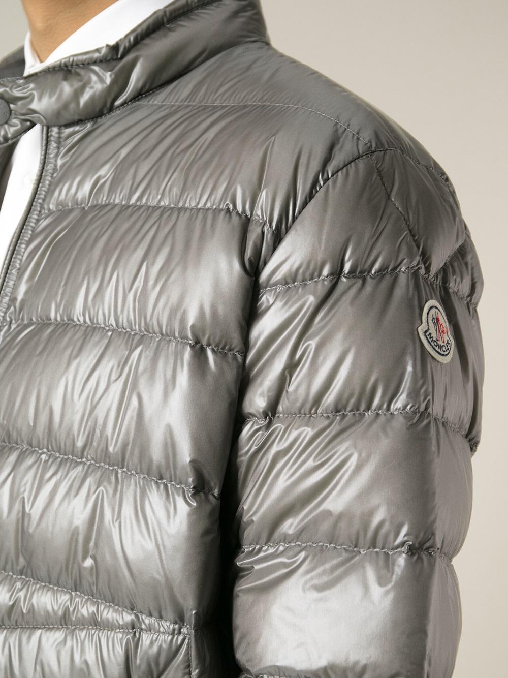 dd9bb3584 Moncler Gray Acorus Padded Jacket for men