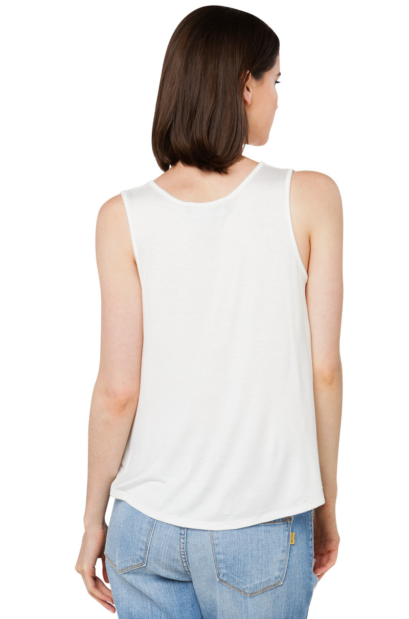 Lyst Akira Save Water White Tank Top In White