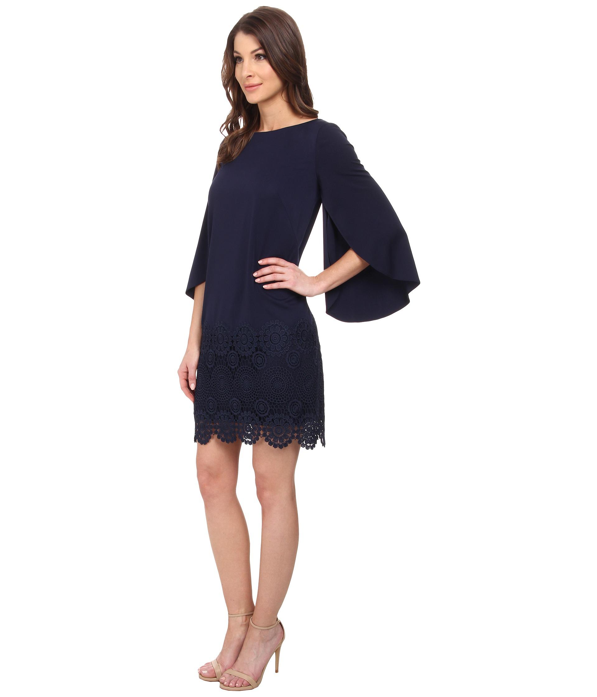 Tahari Stanley Q Dress In Black Lyst