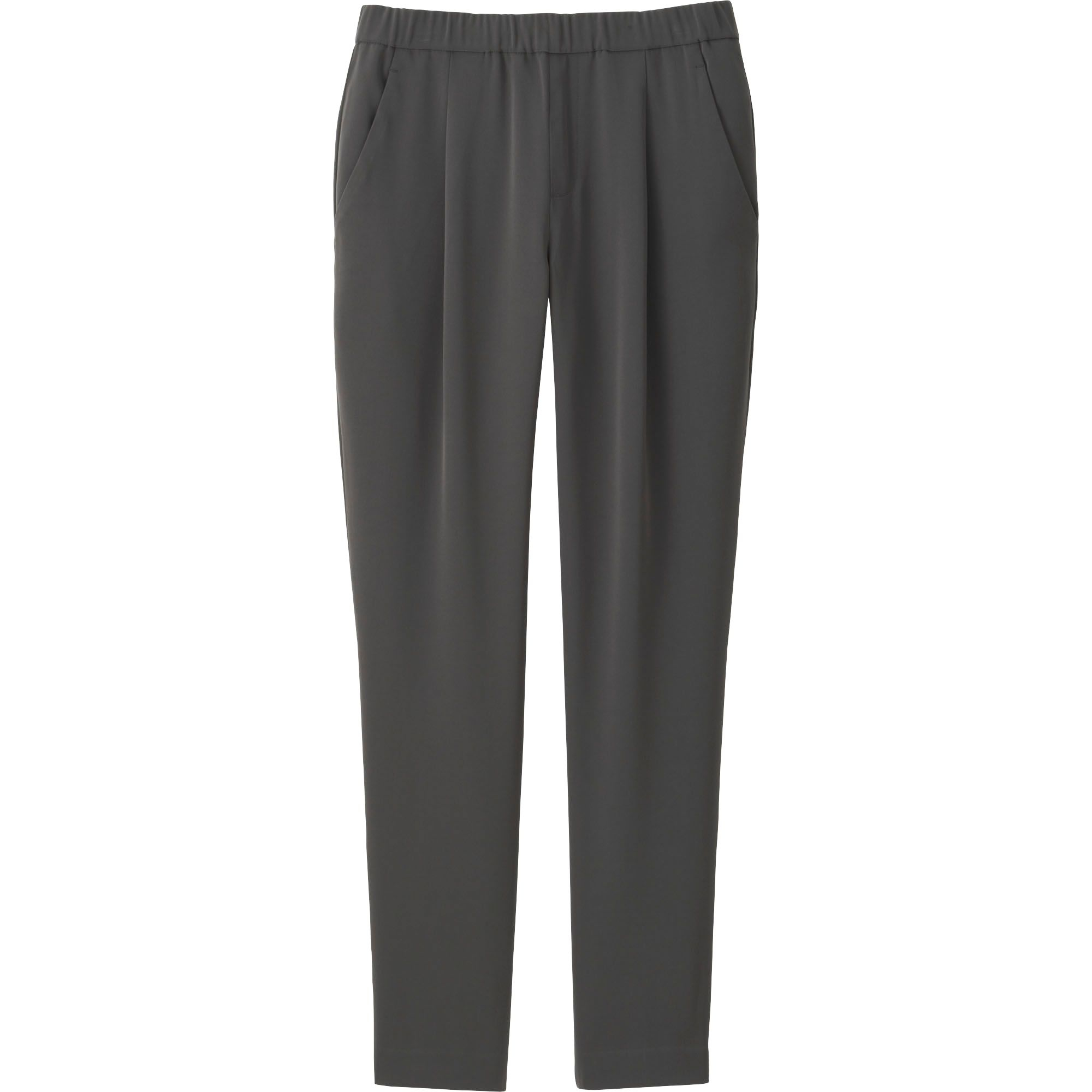 Perfect Uniqlo Womenu0026#39;s Draped Relaxed Fit Pants In Blue | Lyst