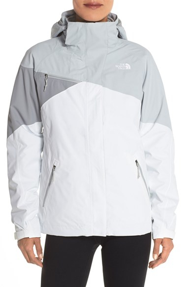 484b3d7e5 The North Face Gray 'cinnabar' Triclimate 3-in-1 Insulated Jacket