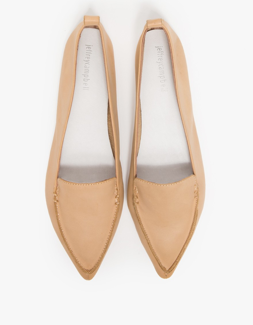 Lyst Jeffrey Campbell Vionnet In Natural In Natural