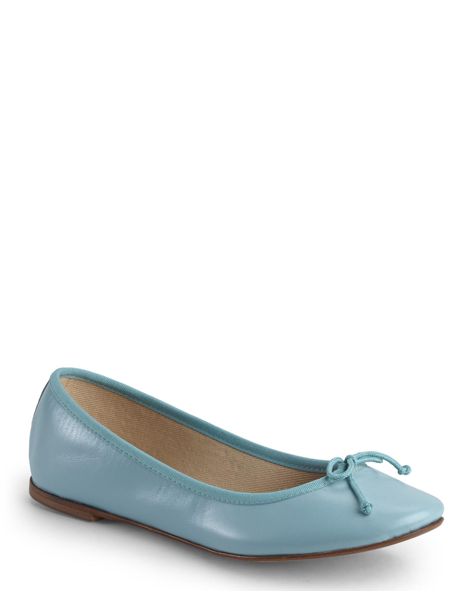 a039ff294df Lyst - L Autre Chose Light Blue Ballet Flats in Blue