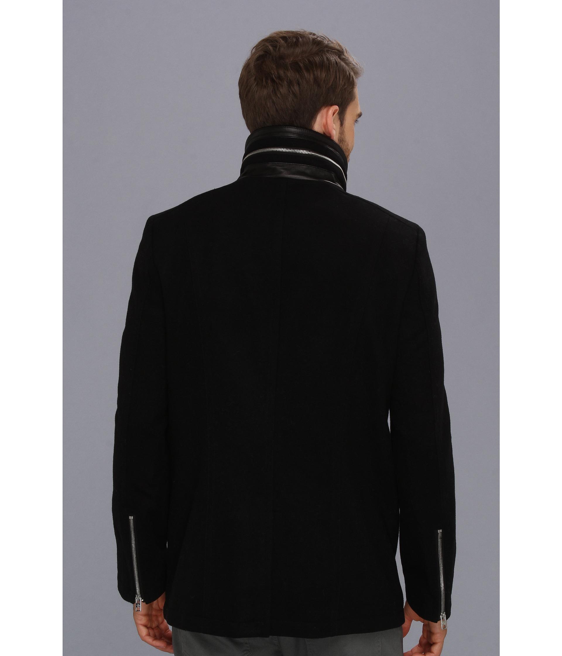 49f3332be 7 Diamonds Black Big In Japan Coat for men