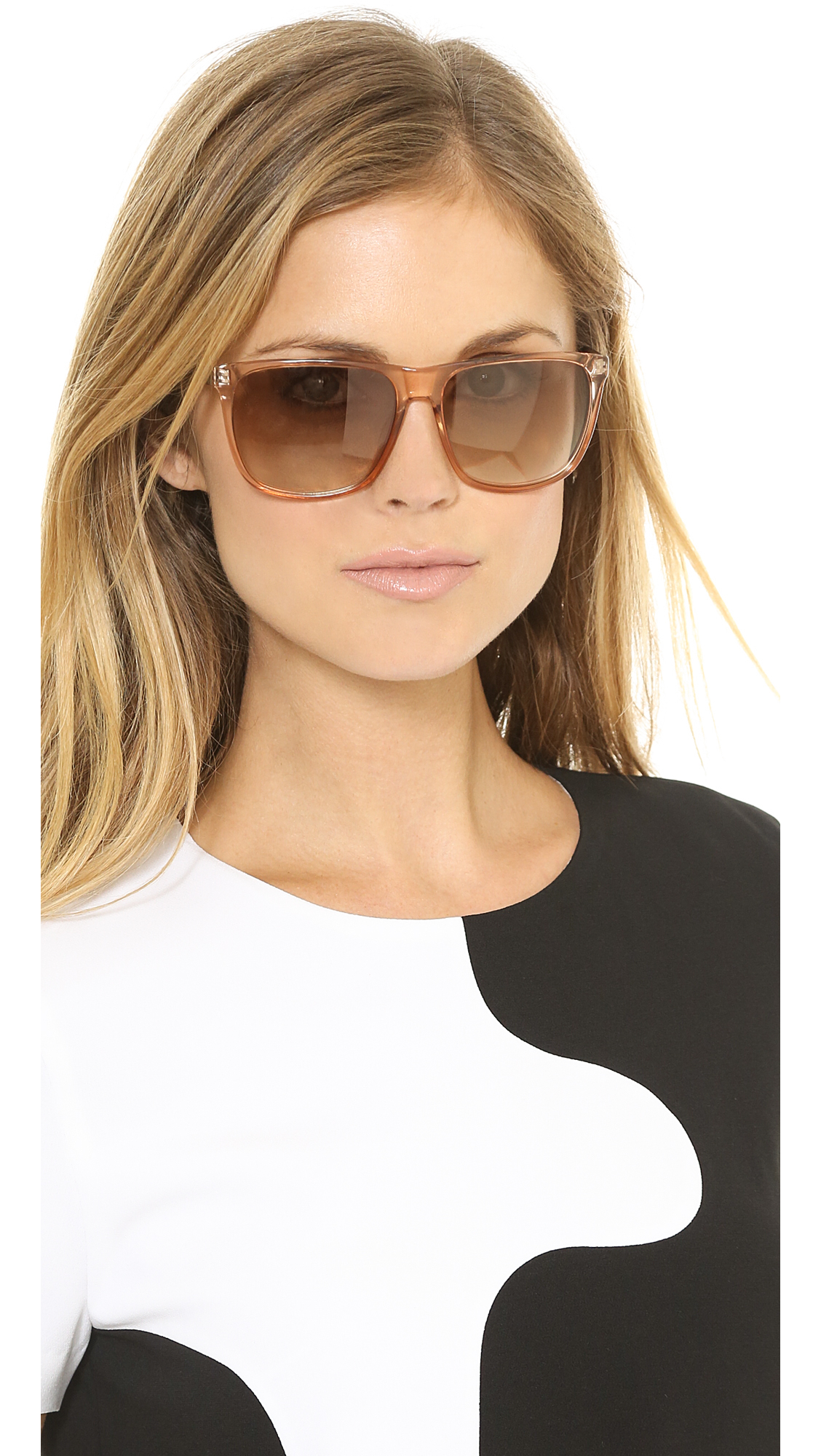 Lyst Marc By Marc Jacobs Flat Top Sunglasses