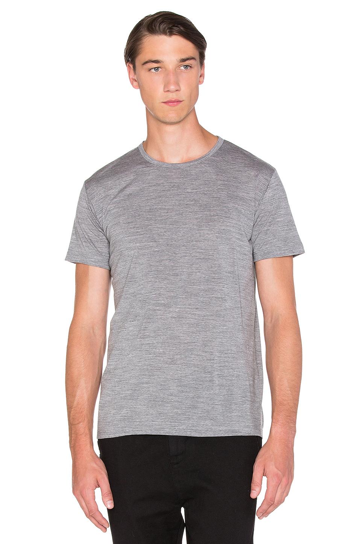 apolis merino t shirt in gray for men lyst. Black Bedroom Furniture Sets. Home Design Ideas