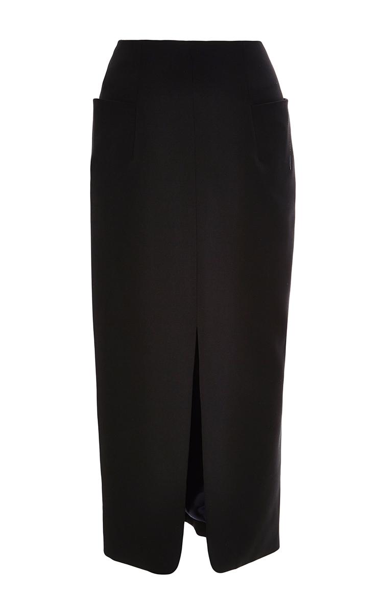 Josh goot Black Tailored Pencil Skirt in Black   Lyst