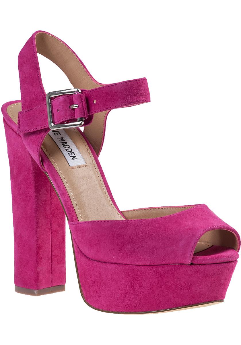 Fuschia Pink High Heels