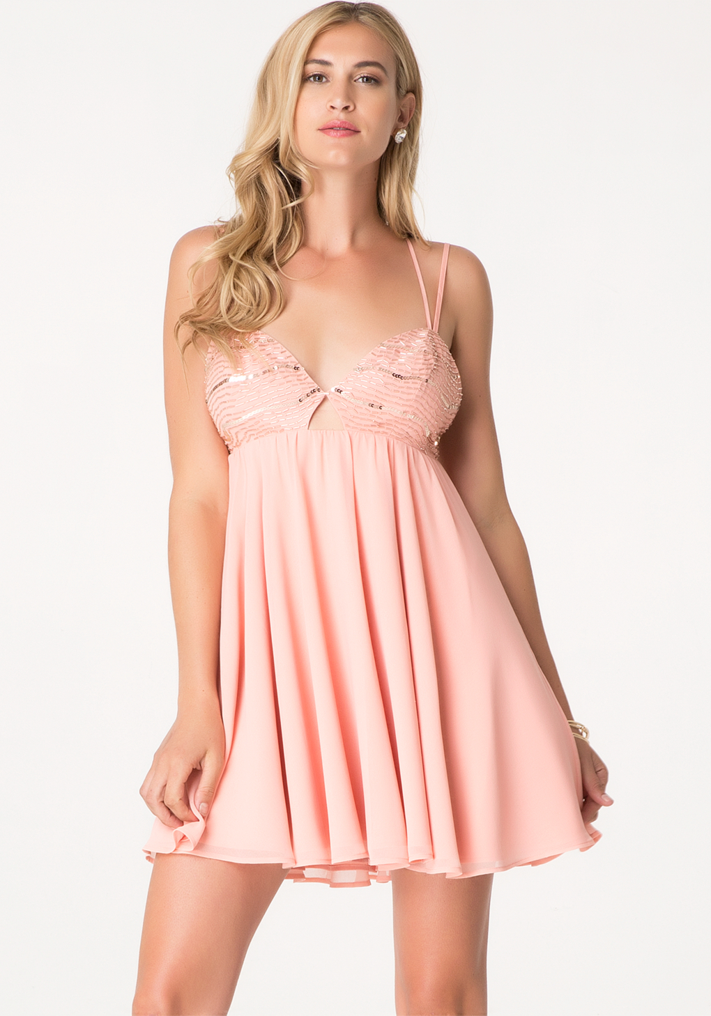 Pink Babydoll Dress