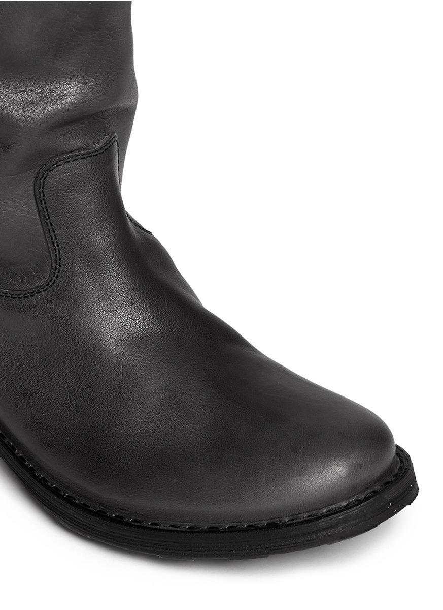 Fiorentini + Baker 'effie' Eternity Leather Boots in Grey (Grey)