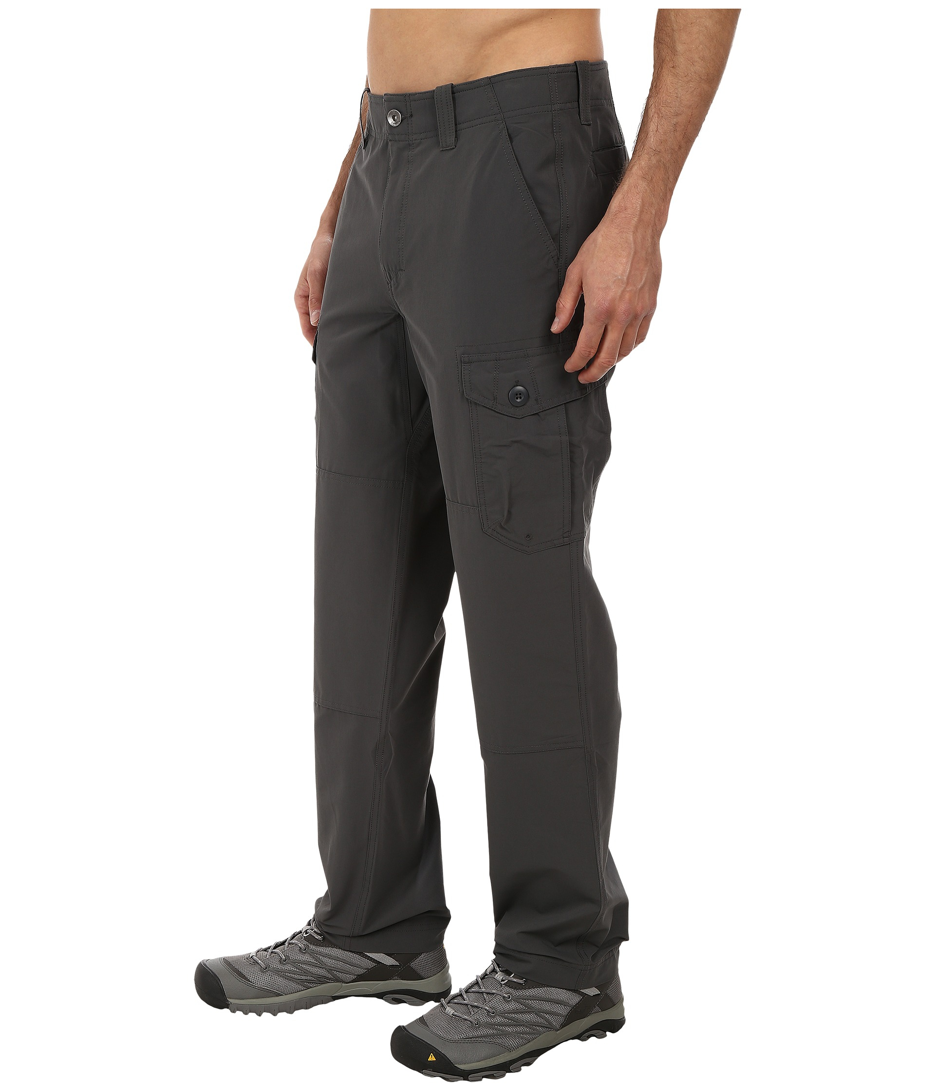 Innovative Atm Slim Cargo Stretch Pants In Gray  Lyst
