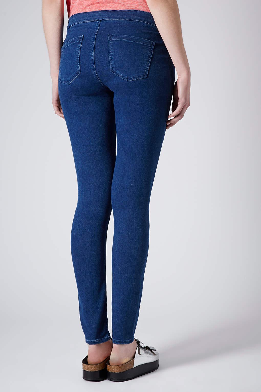 Topshop Maternity Moto Joni Jeans in Blue | Lyst