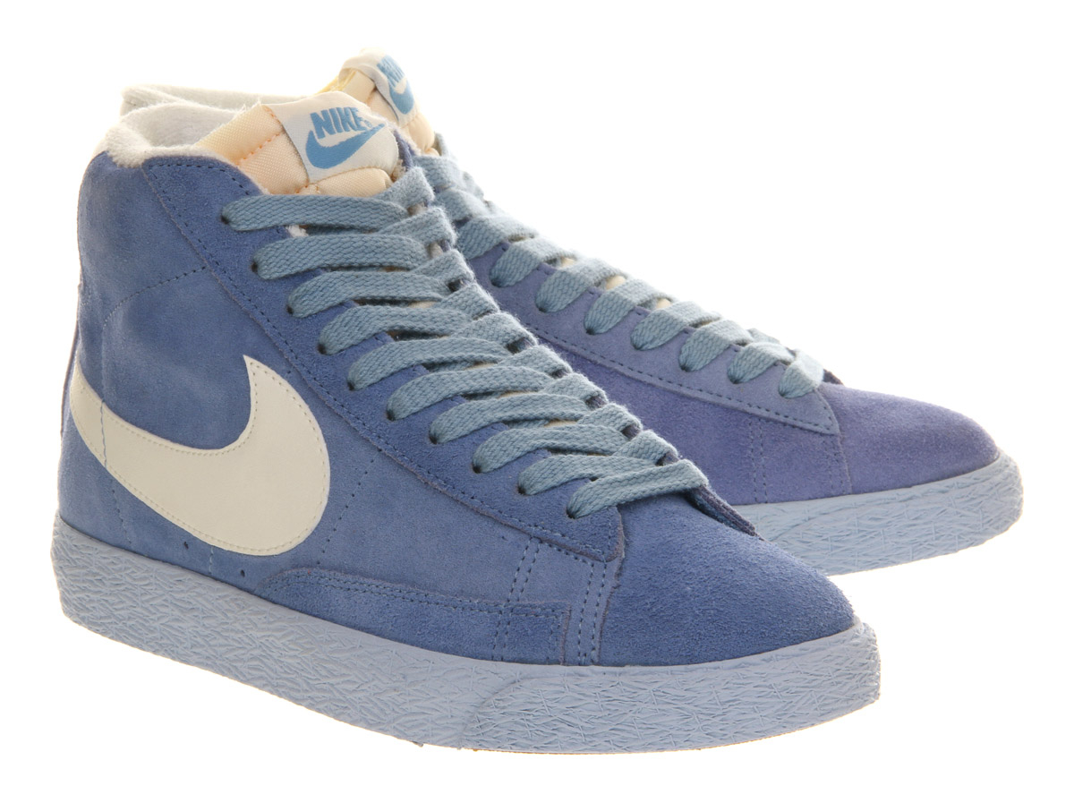 ... Nike Blazer Hi Suede Vintage in Blue for Men | Lyst. Nike Blazer Hi  Suede ...