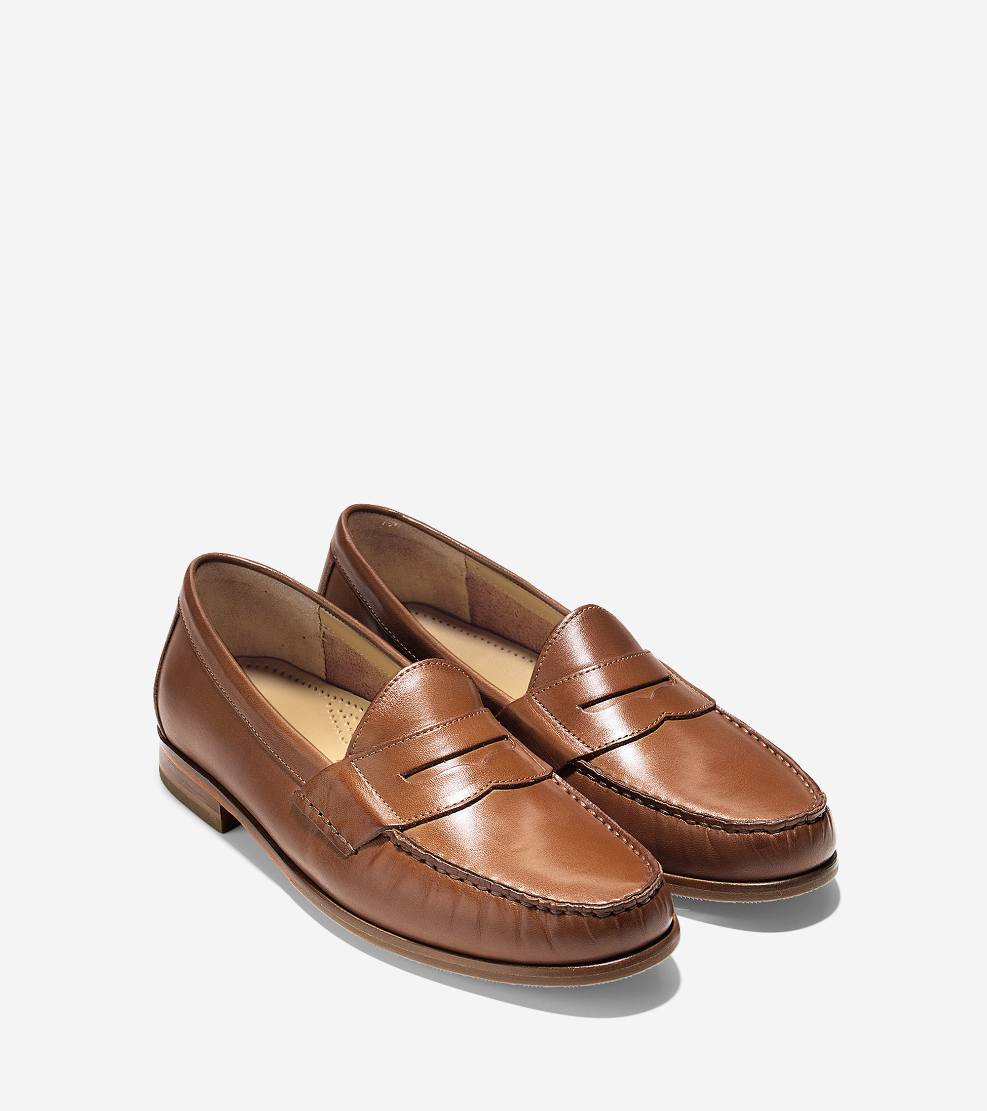 Lyst - Cole haan Ascot Penny Loafer in Brown for Men