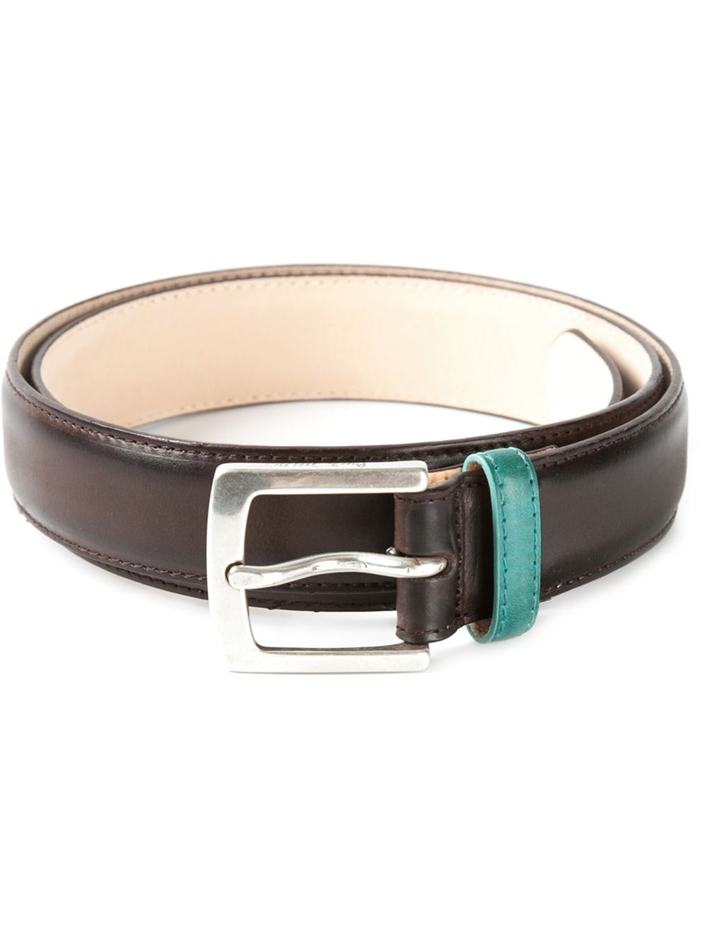 paul smith suit burn belt in brown for lyst