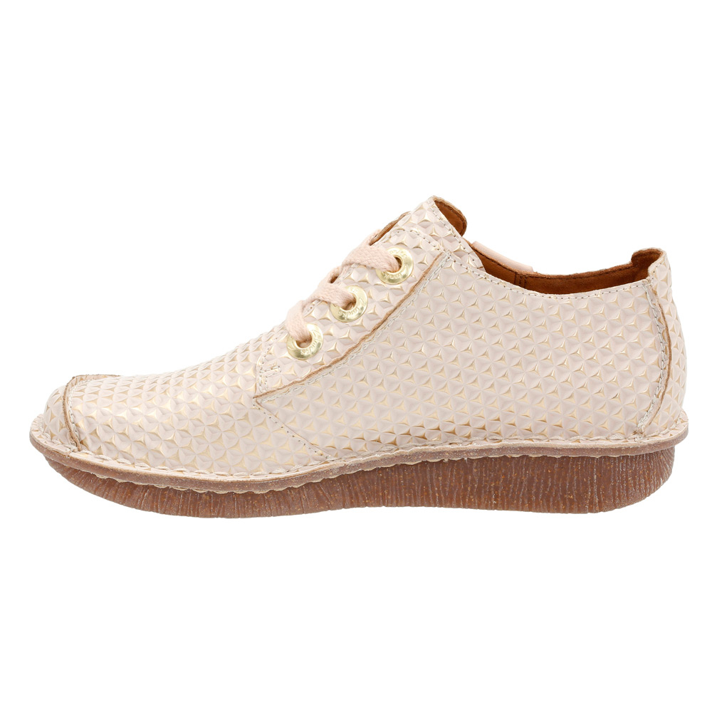 Clarks Funny Dream Shoes White